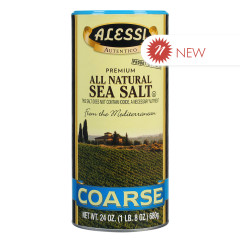 ALESSI COARSE SEA SALT 24 OZ