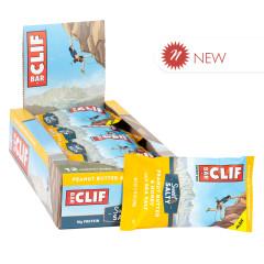 CLIF BAR SWEET & SALTY PEANUT BUTTER HONEY SEA SALT 2.4 OZ BAR