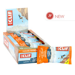 CLIF BAR SWEET & SALTY CARAMEL TOFFEE WITH SEA SALT 2.4 OZ