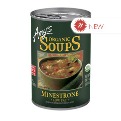 AMY'S ORGANIC MINESTRONE SOUP 14.1 OZ CAN