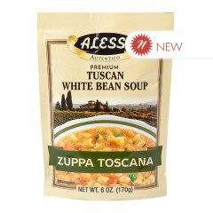 ALESSI TUSCAN WHITE BEAN SOUP 6 OZ