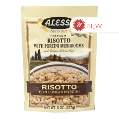 ALESSI RISOTTO WITH PORCINI MUSHROOMS 8 OZ