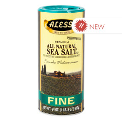 ALESSI FINE SEA SALT 24 OZ