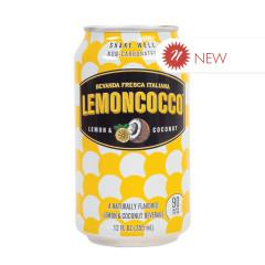 LEMONCOCCO LEMON/COCONUT BEVERAGE 12 OZ CAN (4 PK)