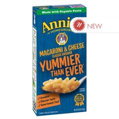 ANNIE'S MILD CHEDDAR MACARONI & CHEESE 6 OZ BOX