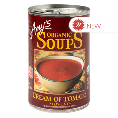 AMY'S ORGANIC CREAM OF TOMATO SOUP 14.5 OZ CAN