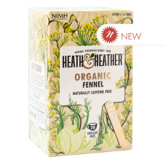 HEATH & HEATHER ORGANIC FENNEL TEA 20 CT BOX