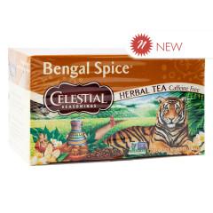 CELESTIAL SEASONINGS BENGAL SPICE TEA 20 CT BOX