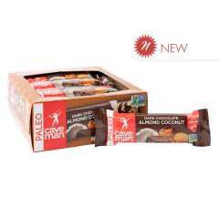 CAVEMAN DARK CHOCOLATE ALMOND COCONUT 1.4 OZ BAR