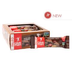 CAVEMAN PROTEIN BAR DARK CHOCOLATE CHERRY NUT 1.4 OZ BAR