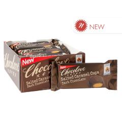 CHOCOLOVE DARK CHOCOLATE SALTED CARAMEL CUPS 1.2 OZ