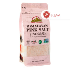 HIMALAYAN CHEF BAG PINK SALT FINE GRAIN 16 OZ BAG