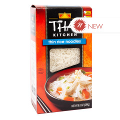 THAI KITCHEN THIN RICE NOODLES 8.8 OZ BOX