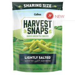 CALBEE LIGHTLY SALTED HARVEST SNAPS 10 OZ POUCH