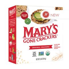 MARY'S GONE CRACKERS ORIGINAL CRACKERS 6.5 OZ BOX
