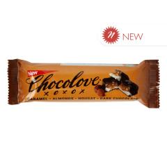CHOCOLOVE CARAMEL ALMOND NOUGAT BAR 1.4 OZ