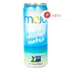 MOJO PURE COCONUT WATER 11.1 OZ CAN
