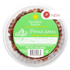 DATES - PITTED - IMPORTED - CUPS 24OZ - PK12/CS