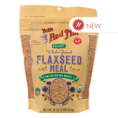 BOB'S RED MILL ORGANIC FLAXSEED MEAL 16 OZ POUCH