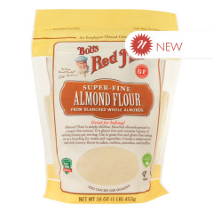 BOB'S RED MILL ALMOND FLOUR BLANCHED 16 OZ POUCH