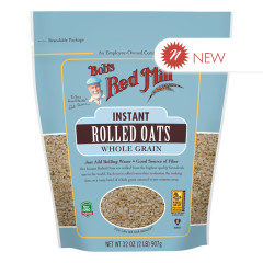 BOB'S RED MILL INSTANT ROLLED OATS 32 OZ POUCH
