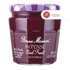 BONNE MAMAN INTENSE RED FRUITS SPREAD 8.2 OZ JAR