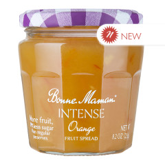 BONNE MAMAN INTENSE ORANGE FRUIT SPREAD 8.2 OZ JAR