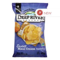DEEP RIVER SWEET MAUI ONION KETTLE CHIPS 2 OZ BAG
