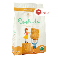 CACHAFAZ COOKIDS OATMEAL & HONEY COOKIES 7 OZ BAG
