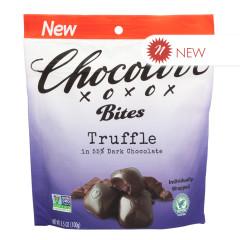 CHOCOLOVE DARK CHOCOLATE TRUFFLE BITES 3.5 OZ POUCH