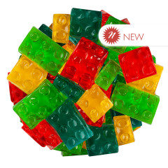 CLEVER CANDY GUMMY 3D BUILDING BLOCKS