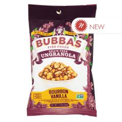 BUBBA'S BOURBON VANILLA UNGRANOLA 1.3 OZ PEG BAG