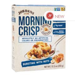 JORDANS ORGANIC BURSTING WITH NUTS MORNING CRISP 12.5 OZ BOX