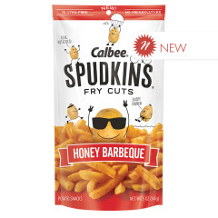 CALBEE SPUDKINS HONEY BARBEQUE 5 OZ POUCH
