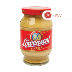 LOWENSENF EXTRA HOT MUSTARD 9.34 OZ JAR