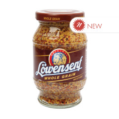 LOWENSENF WHOLE GRAIN MUSTARD 8.8 OZ JAR