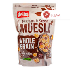 DELBA WHOLE GRAIN MUESLI 26.5 OZ