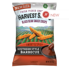 CALBEE SOUTHERN STYLE BBQ HARVEST SNAPS 2 OZ BAG