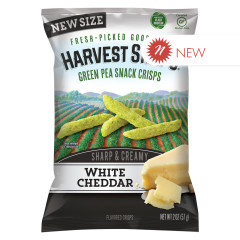 CALBEE WHITE CHEDDAR HARVEST SNAPS 2 OZ