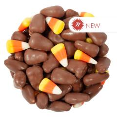 MILK CHOCOLATE CANDY CORN MIX - 10LB