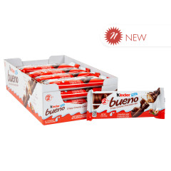 KINDER BUENO CHOCOLATE WAFER COOKIES 1.5 OZ
