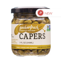 PICKERFRESH CAPERS 7 OZ JAR