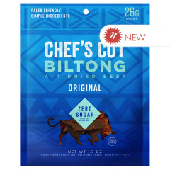 CHEF'S CUT ORIGINAL BILTONG BEEF JERKY 1.7 OZ POUCH