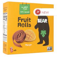 BEAR MANGO REAL FRUIT YOYOS (5 CT) 3.5 OZ BOX