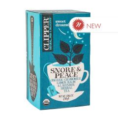 CLIPPER SNORE & PEACE TEA 20 CT BOX