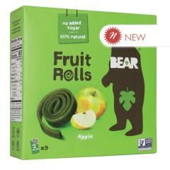 BEAR APPLE REAL FRUIT YOYOS (5 CT) 3.5 OZ BOX