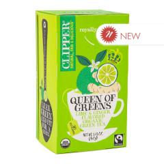 CLIPPER QUEEN OF GREENS TEA 20 CT BOX