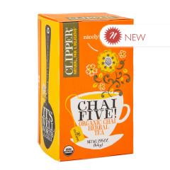 CLIPPER CHAI FIVE TEA 20 CT BOX