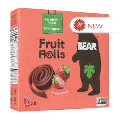 BEAR REAL FRUIT STRAWBERRY YOYOS (5 CT) 3.5 OZ BOX