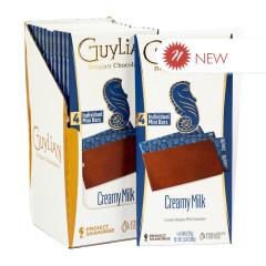 GUYLIAN MILK CHOCOALTE 3.53 OZ BAR